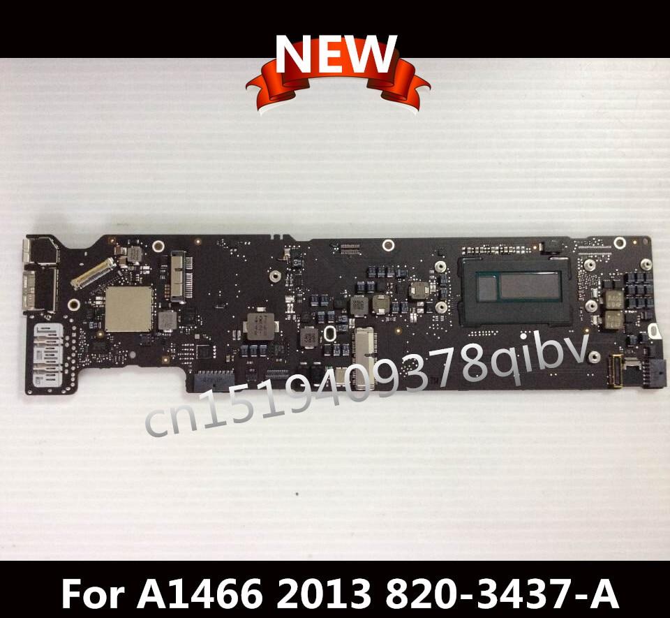 Brand New Motherboard 13 i5 1.3GHz 4GB RAM For Macbook Air A1466 Logic Board 2013 820-3437-A 631 0347 m40a mlb 820 1900 a oem logic board 1 83 t2400 ghz for m mini a1176 emc 2108 ma608 gma 950 64m