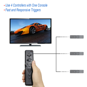 Image 4 - Built in Motion Plus Wireless Bluetooth Controller For Wii Remote Nunchuck For Wii 2 in 1 Game Controle Joystick
