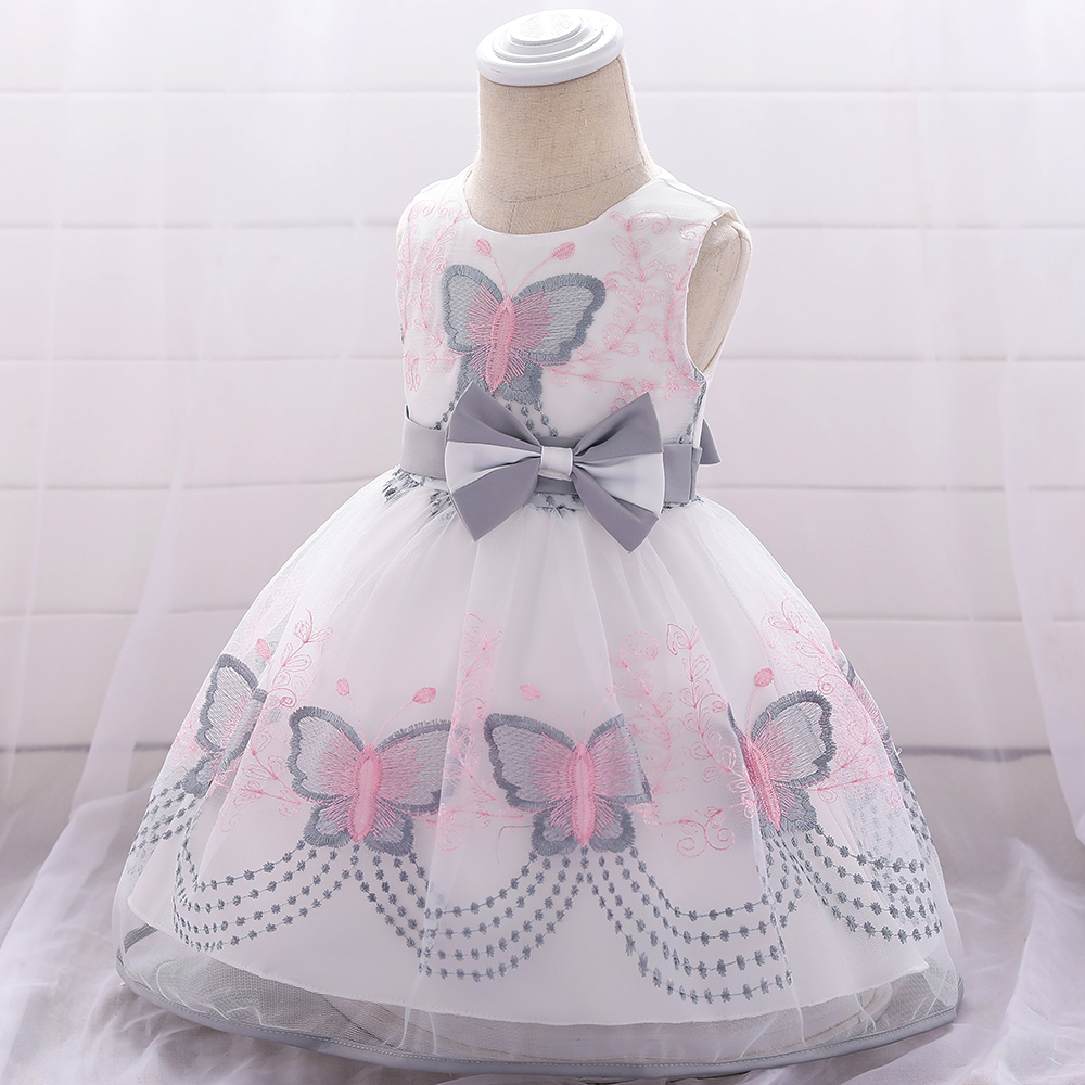 <font><b>Baby</b></font> <font><b>Girl</b></font> <font><b>Dress</b></font> For <font><b>Girl</b></font> 1 <font><b>Year</b></font> Birthday <font><b>Dress</b></font> Butterfly Embroidery <font><b>Girls</b></font> Party And Wedding <font><b>Dress</b></font> Newborn Clothing <font><b>3</b></font> 12 24 Month image