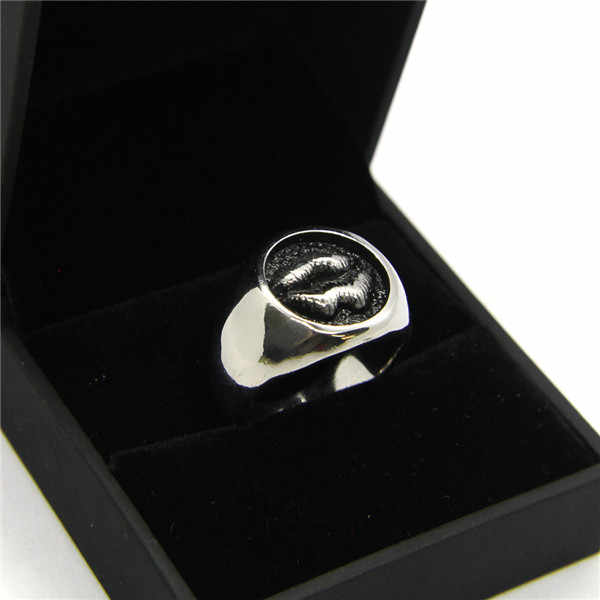 D rop s Hipเสนอ316Lสแตนเลสแหวนเย็นออกแบบดาวริมฝีปากแหวนBad Assผู้หญิงบุรุษเครื่องประดับเงินขัดแฟชั่นแหวน