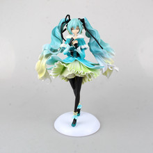 Anime Doll Vocaloid Hatsune Miku Snow in Summer 1/7 Scale Pre-painted PVC Action Figure Model Toy 28cm