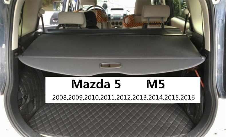 Car Rear Trunk Security Shield Cargo Cover For Mazda 5 M5 2007.08.2009.2010.2011.2012.13.14.15.2016 High Qualit Auto Accessories car rear trunk security shield cargo cover for mazda 5 m5 2007 08 2009 2010 2011 2012 13 14 15 2016 high qualit auto accessories