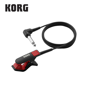 Image 4 - Korg CM300 Clip On Contact Microphone 1/4(Dia6.3mm) male phone connector and 5ft (1.5m) shield cable   White/Black/Red