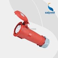 真新しいsaip ip44防水ソケット32a 440ボルト4 p -