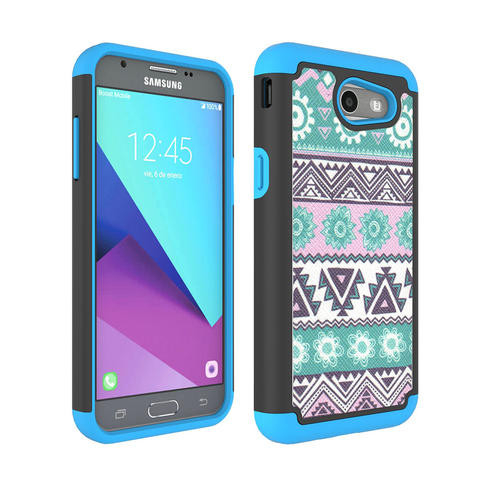 Dual Layer Tribal PC + TPU Rugged Case Shockproof