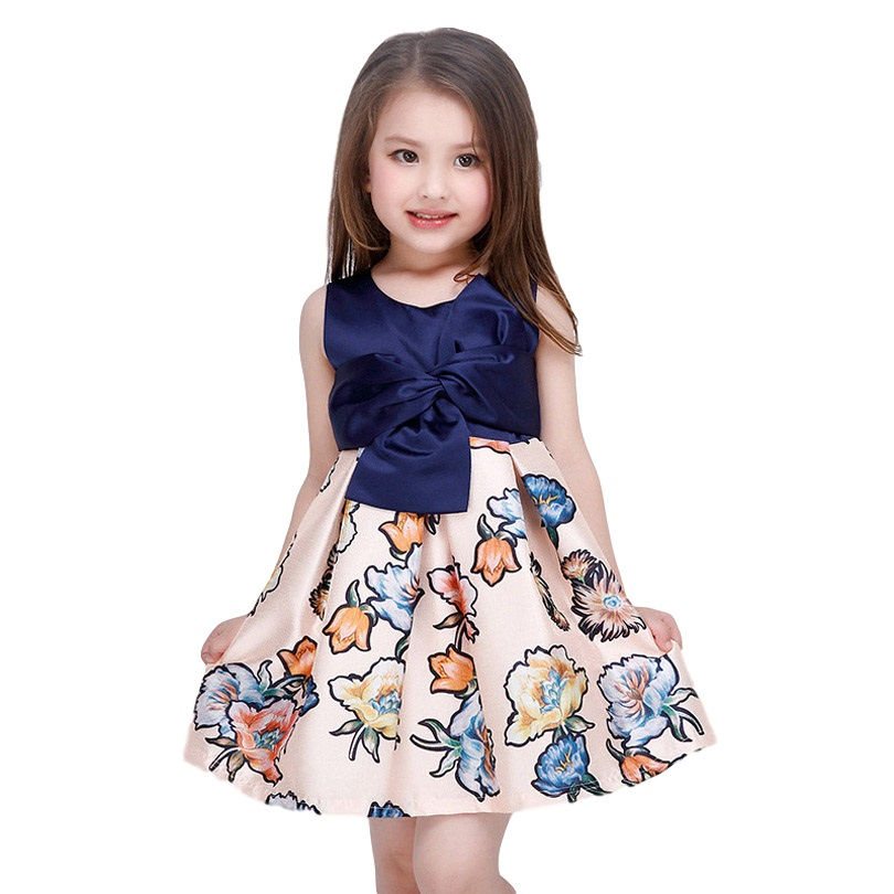 3-12 Years Old Summer Girls Dress Gown For Teenagers Baby Girl Kids Princess Dress Children Party Frock Gowns For Teenagers girl summer dress for 12 years old sleeveless children printed cartoon princess graffiti dress children polyester girl clothes