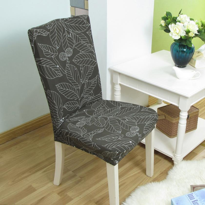 High Quality Dining Room Elastic Cloth Chair Covers Anti Mite AntiFouling Cap Slipcovers Hotel Banquet