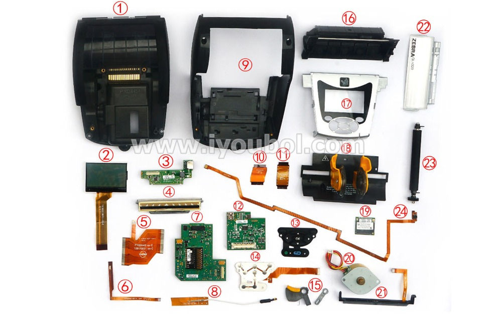 US $198 0 |Motherboard ( Wifi , Bluetooth version) for Zebra QLN320 Mobile  Printer-in Printer Parts from Computer & Office on Aliexpress com | Alibaba