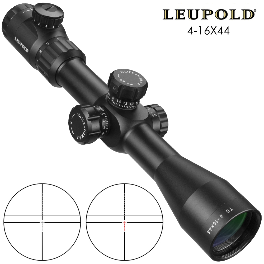 TO 4-16X44 SFIR Rapid Target Acquisition Hunting Short Riflescoepes Precise Illuminated Tactical Sight For Airsoft Gun