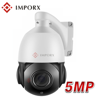 IMPORX 4 Inch Ultra HD 5MP PTZ IP Camera Outdoor H.265 Network ONVIF Speed Dome 36X Zoom IP PTZ Camera CCTV 70m IR Night Vision