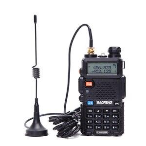 Image 1 - Portátil walkie talkie antena otário mini tipo SMA F porta para baofeng UV 5R UV 82 BF 888S walkie talkie rádio