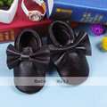Genuine Leather Toddler baby moccasins soft baby shoes boys First Walkers 19 color Anti-slip Infant baby girl Shoes freeshipping