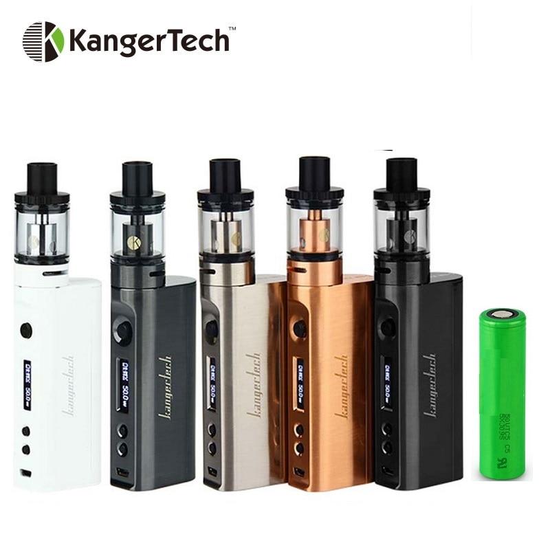 Горячая kangertech subox мини-c starter kit с 2600 мАч Батарея и 3 мл protank 5 майка max 50 вт Выход subox Мини C e-сигареты поле mod kit