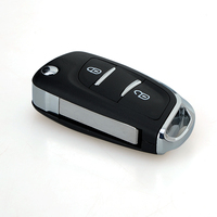 2 Düğmeler Uzaktan Alarm Çevirme Anahtarı Fob 433 MHz Transponder Çip Citroen C2 C3 C4 PICASSO Için PCF7961 Yedek Tamir Araba anahtar