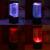 2016 NOVO Mundo Do Mar LEVOU Brilho Da Novidade Tanque De Água LEVOU Lâmpada Luz Da noite Relaxante Humor Luz Decorações Home Lâmpada de Cabeceira presente