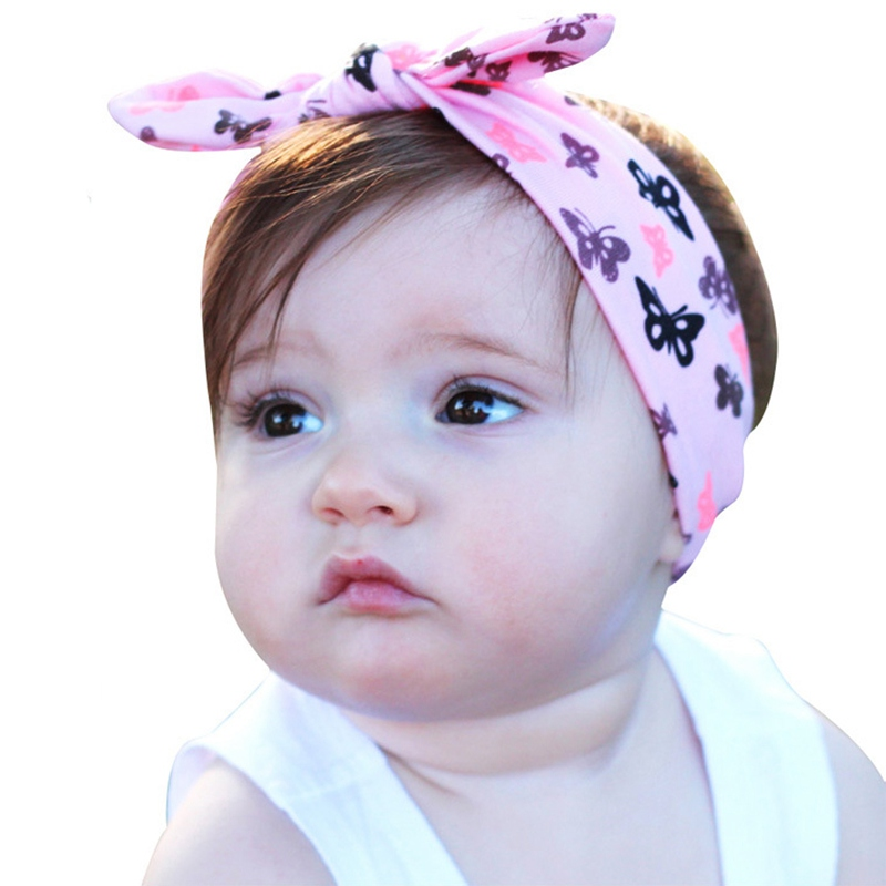 1 шт в лоте повязка на голову с бантом и тюрбан розовый кроличьими ушками пальто