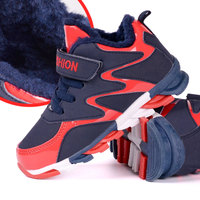 Children Shoes Boys Snow Boots Kids Sports Shoes Winter Keep Warm Plush Shoes Sneakers Outdoor Running