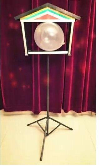 Colombes jumelles en ballon-tours de magie colombe télécommandés, scène, Illusions, accessoires de magie
