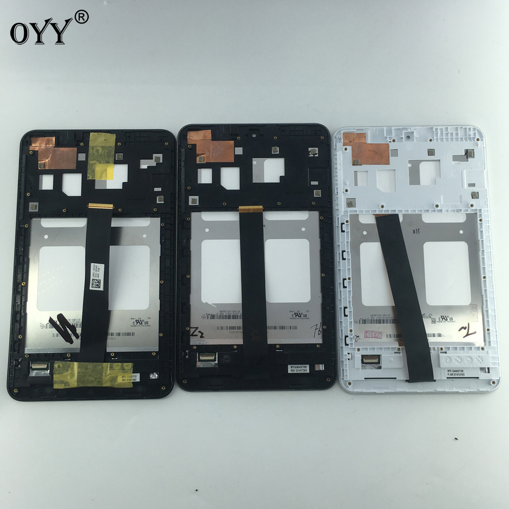 LCD display screen touch screen Digitizer Assembly with frame Replacement Parts 8 inch For Asus Memo Pad 8 ME181 ME181C K011 for asus padfone mini 7 inch tablet pc lcd display screen panel touch screen digitizer replacement parts free shipping