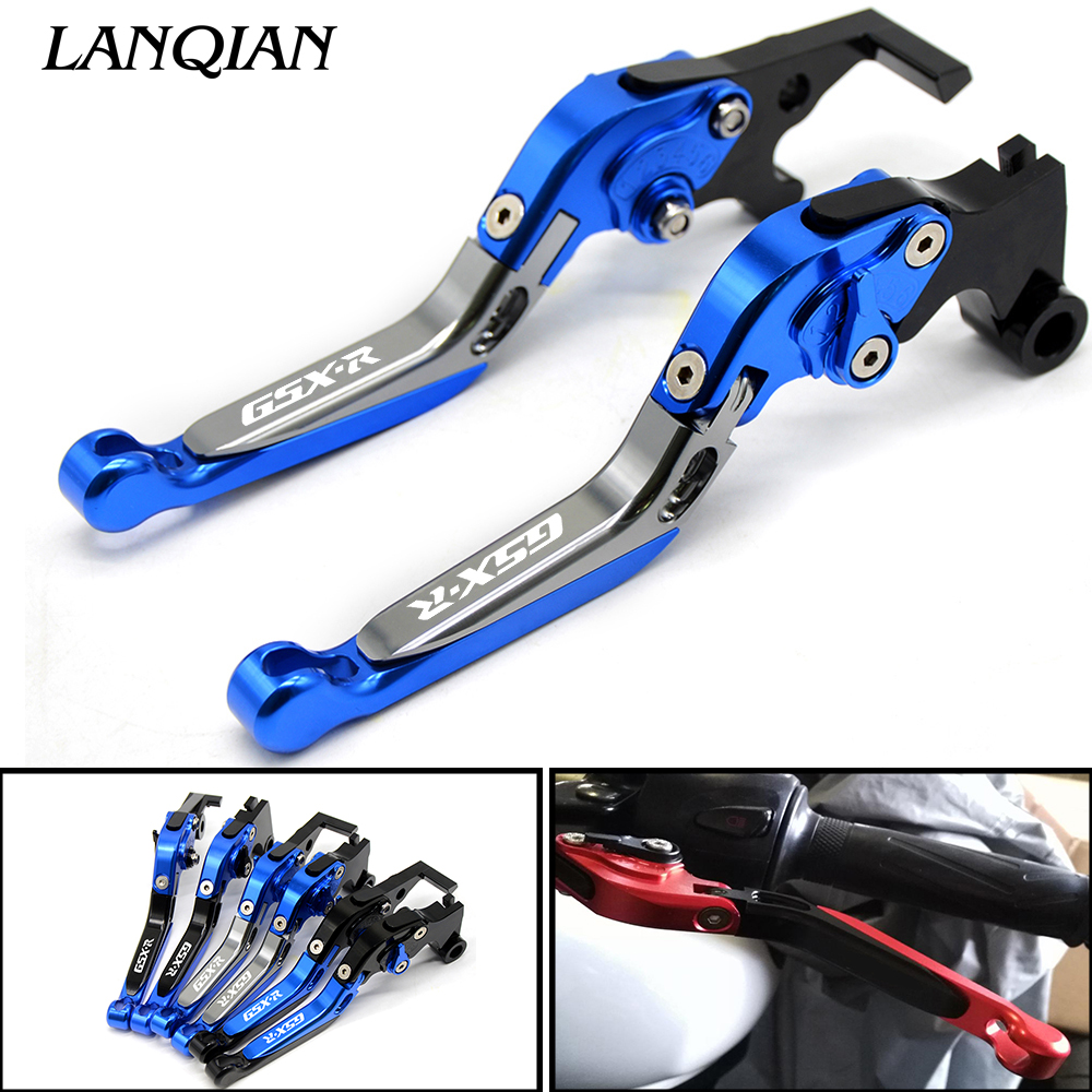 Accessorie Motorcycle CNC Aluminum Brake Clutch Levers For SUZUKI GSXR 600 750 2006-2010 GSX R 1000 2005-2006 GSX-R 600 750 1000 brand new blue color motorcycle accessories cnc aluminum brake clutch levers for suzuki gsxr750 06 10 have 5 colors optional