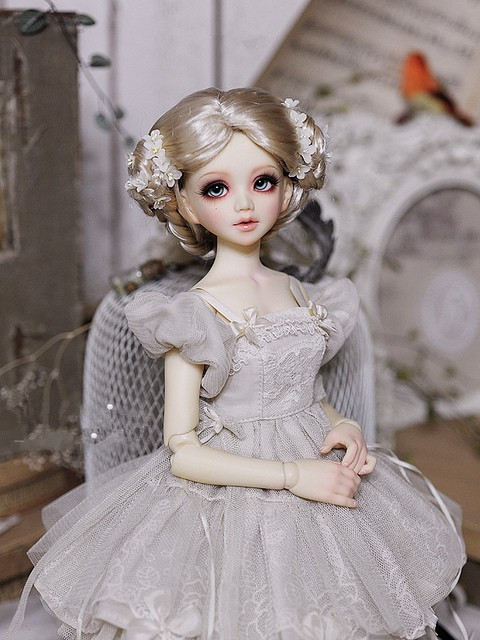 1/4 bjd doll lovely Juno female doll Araki tree sd doll ball jointed doll aifei doll