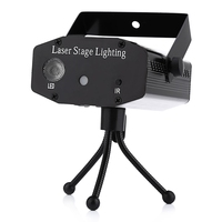 Lightme R&G Holiday Laser Dj Disco Projector AC 100 240V 9W Mini LED Stage Laser Light RGB Projector Club Festival LED Lamp