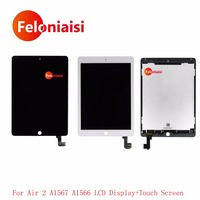 High Quality For IPad Air 2 For IPad 6 A1567 A1566 LCD Display With Touch Screen