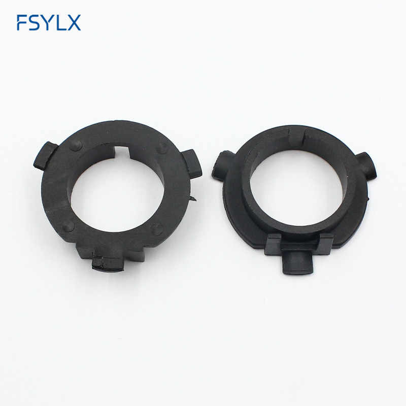 FSYLX LED H7 Bulb Holder Adapter for Hyundai Veloster i30 H7 LED headlight headlamp H7 base adapter for KIA K4 K5 Sorento CEED