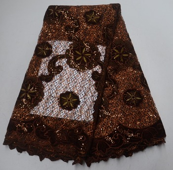 New Nigerian velvet lace fabrics, African rope lace fabrics high quality dress materials