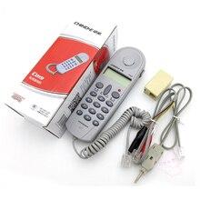 Горячая C019 телефонный телефон ягодичный тест er линейный инструмент сетевой тест er кабель для неисправности телефонной линии