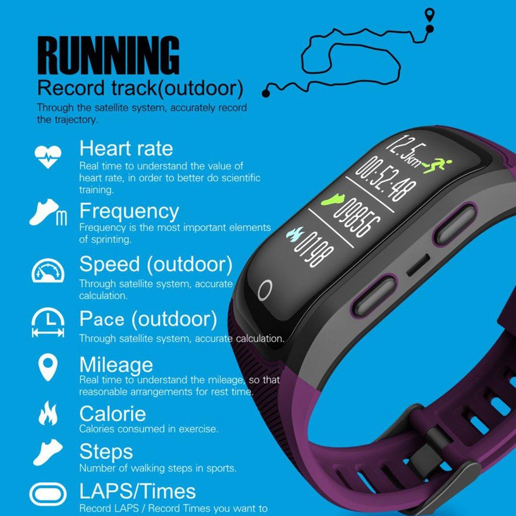 Saatler'ten Dijital Saatler'de GPS Koşu Açık Spor akıllı saat Çok Fonksiyonlu Eğitim Modu Mesafe Kalori Hızlı Zaman Sayımı Izle Dropshipping'da  Grup 2