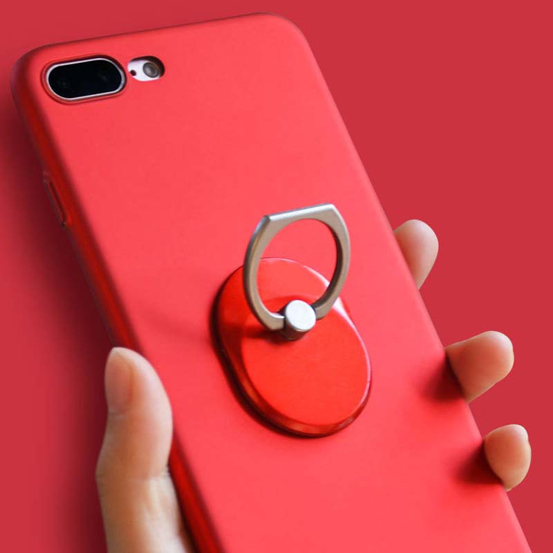 Mobile Phone Finger Ring Holder Kickstand 360 Degree Rotation Stand Support for iPhone Samsung Smart Devices Phone Accessories Pakistan