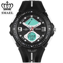 Mens WatcheTop Brand Luxury SMAEL Watch Men 30m Waterproof LED Quaetz-watch Sport Wristwatch reloj hombre horloges mannen WS1315
