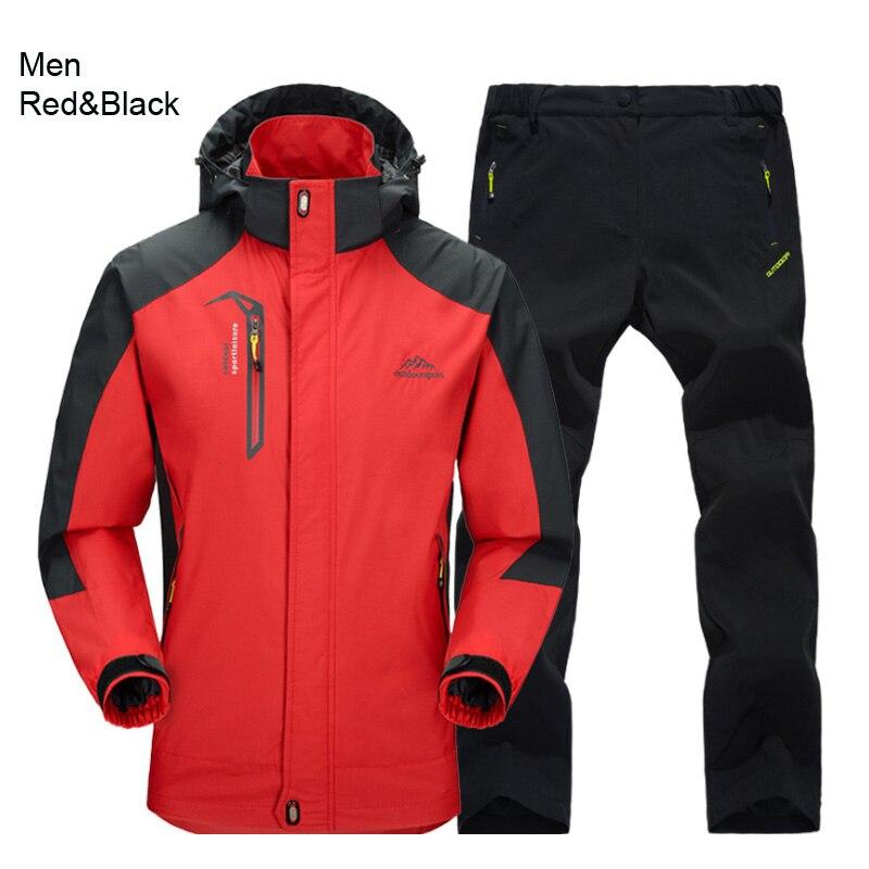 men red black