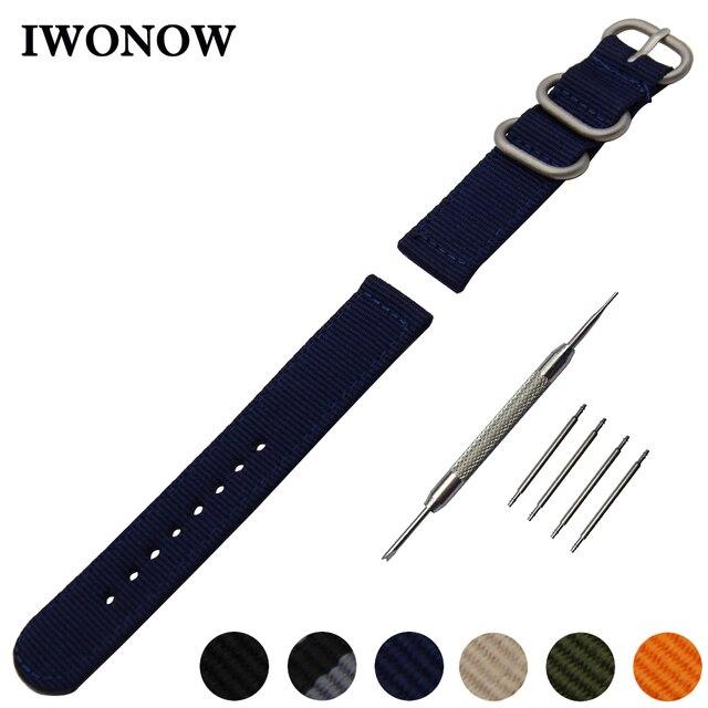 52903feeae7 Nylon Pulseira 18 20 22 24mm + Ferramenta para Victorinox Homens Mulheres  Certina Relógio Banda Fivela
