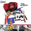 29 pcs Ferramenta Kit de Reparação de Danos Causados Por Granizo PDR PDR Fix Ding Dent Levantador Paintless Reparação Dent Granizo Reparação Kits De Ferramentas Automotivas Kit