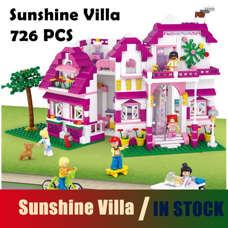 Compatible con lego Friends Kit de construcción de modelos Pink - Juguetes de construcción - foto 1