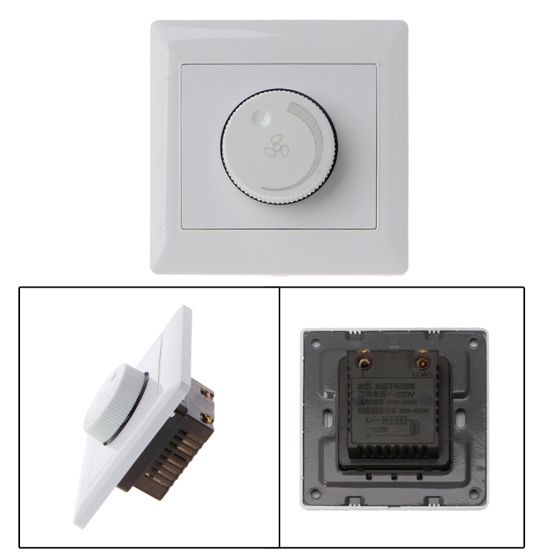 Us 2 26 23 Off 220v 200w Adjustment Ceiling Fan Sd Control Switch Wall On Dimmer In Switches From Lights Lighting Aliexpress