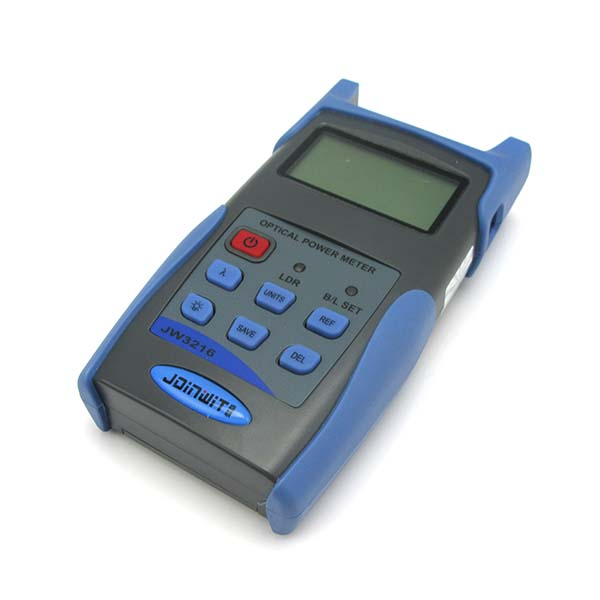 High Precision USB Port Data Storage JW3216A -70+6dBm Fiber Optical Power Meter