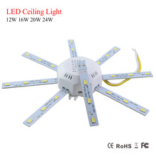 New Replaceable LED Light Source For Ceiling Kitchen Lamp 12W 16W 20W 24W Led Lights With Magnet Driver 220V Energy Saving Light(China)