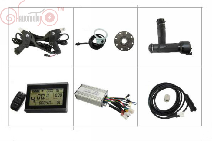 ConhisMotor 24V 500W Ebike Kit Controller With Regenerative and Reverse Function+ LCD Throttle PAS Speed Sensor Brake Levers amandeep singh arora vineet inder singh khinda and nitika bajaj regenerative endodontics