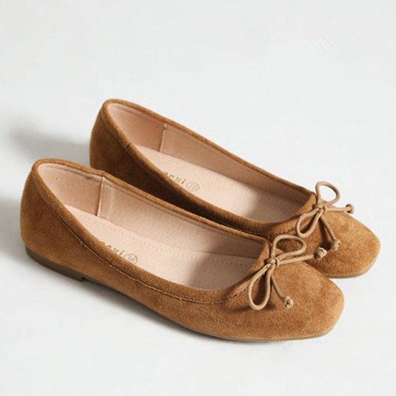 ФОТО Fashion Women Shoes high quality suede Casual Flats Comfortable Loafers simple egg roll shoes bottes femmes obuv zapatos