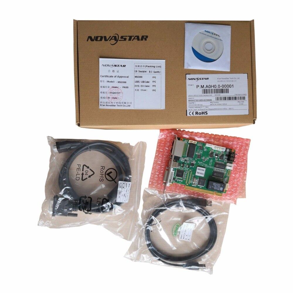 Novastar MSD300 Led Video Display Sending Card Full Color Led Video Wall Synchronous Nova Msd300 Sending