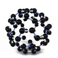 150 шт. 23 мм Пособия по химии преподавания кристалл углерода 60 C60 Atom Молекулярная модель ссылки комплект для малышей модель обучения игрушечн...