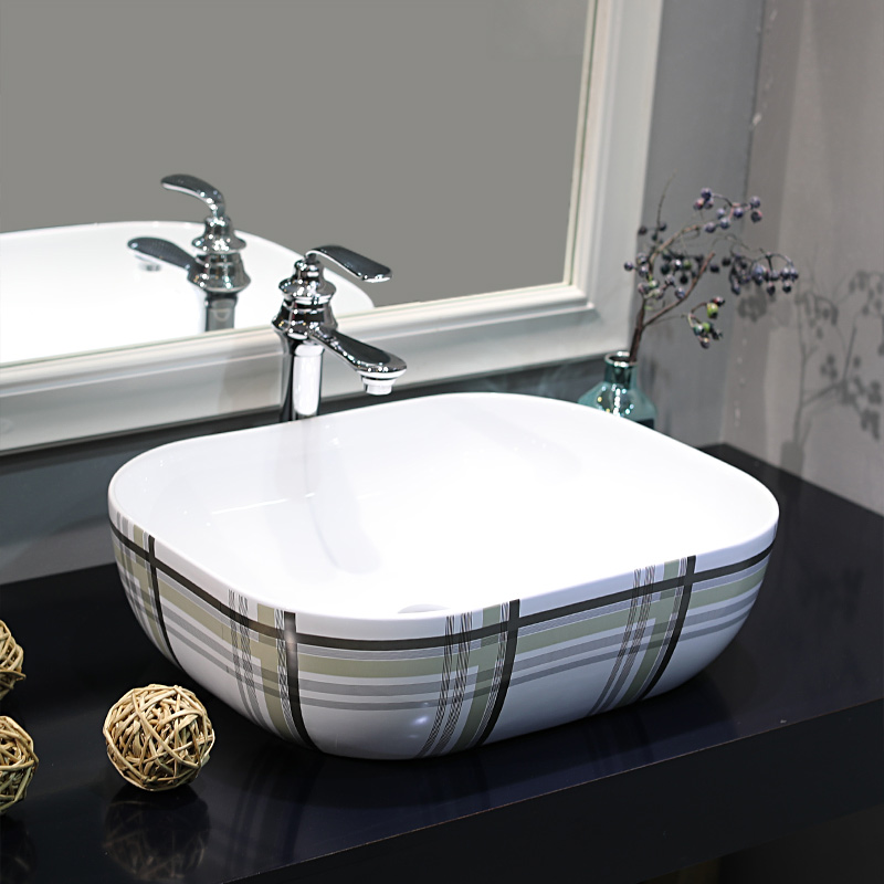 Us 299 0 Jingdezhen Factory Directly Art Hand Painted Ceramic Deep Basin Sink Bathroom Wash Bowl In Sinks From Home Improvement On