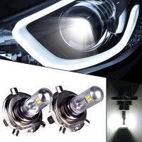 2pcs Car Styling H4 Super Bright Led 8SMD Bulb Car Fog Head Lamp Light DRL Daytime