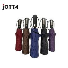 Tri-fold automatic folding umbrella Pongee material