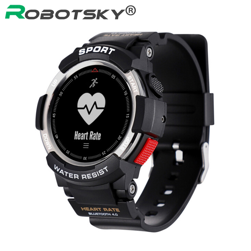 F6 Smartwatch Heart Rate Monitor Fitness Sleep Tracker IP68 Waterproof Bluetooth 4.0 Dynamic Smart watch For Android Apple умные часы smart watch y1