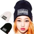 2015 autumn & winter hat Fashion women hats caps beanie skullies for men unisex Winter hats for women gorros Letter hip hop Cap