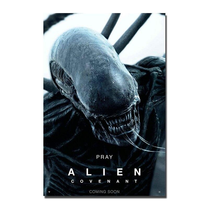 Alien covention (2017) Шелковый парусиновый постер из фильма 13x20 24x36 дюймов, фотографии для украшения дома 003|picture for home|canvas postercanvas picture | АлиЭкспресс